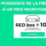 Red by SFR La FIBRE jusqu'à 100 Mb s 10€ par mois à vie @REDbySFR