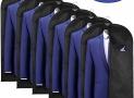 6 Housses de Costumes Antipoussière étanche à l'humidité 100x60cm