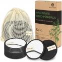 Cotons démaquillant lavable en fibre de bambou