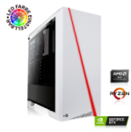 PC GAMING AMD Ryzen 5 2600 6×3.40GHz | 16 Go DDR4 | GTX 1650 SUPER 4 Go | 240 Go SSD + 1000 Go HDD