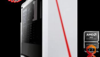 PC GAMING AMD Ryzen 5 2600 6×3.40GHz   16 Go DDR4   GTX 1650 SUPER 4 Go   240 Go SSD + 1000 Go HDD