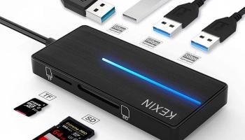 Adaptateur HUB USB 3.0 5 en 1 KEXIN