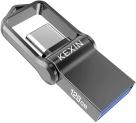 Clé USB 128Go 3.1 Type C OTG en Métal Étanche Antichoc KEXIN