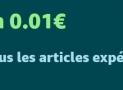 Livraison à 0,01 € pour tout le monde sur Amazon.fr COUPON