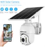 Caméra de Surveillance extérieure à panneau solaire