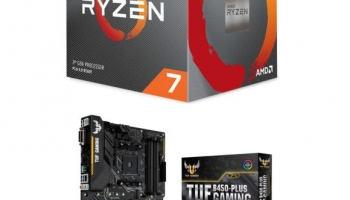KIT EVO – Ryzen 7 3700X – Carte mère Asus TUF B450 Plus Gaming