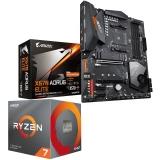 Kit Upgrade PC AMD Ryzen 7 3700X Gigabyte X570 AORUS ELITE