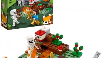 LEGO Minecraft Aventures dans la taïga