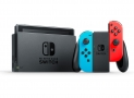 Nintendo Switch et JoyCon rouge et bleu + 13,45 € en Super Points