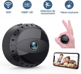Mini Caméra WiFi HD1080P Vision Nocturne Tesecu