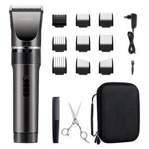 Tondeuse cheveux et barbe WONER HC-818B rechargeable