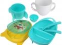 Ensemble de Vaisselle Bébé sans BPA Lictin