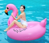 Bouée Gonflable en forme de Licorne Flamingo (170cm x 255cm)