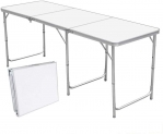 Table pliante de camping 1,8m Nestling