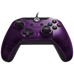 Manette filaire pour Xbox One/S/X/PC – violet