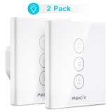 Interrupteur Volet Roulant Maxcio Compatible avec Alexa Echo et Google Home