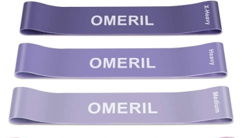 Lot de 5 bandes élastiques Fitness OMERIL