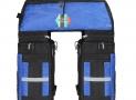 Sac porte bagage à 3 compartiments pour vélo 70L PELLOR