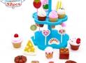 Dinette pour enfants avec glaces et gâteaux Yoptote