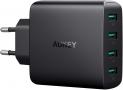 AUKEY Chargeur Secteur USB 4 Ports USB 40W