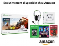 Pack Console Xbox One S Forza Horizon 4 + Casque Turtle Beach Recon 50x White + Manette Xbox One Blanche + FIFA 19 + Token GOW 4 + Token Apex Legends Founders Pack 2