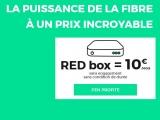 Red by SFR La FIBRE jusqu'à 100 Mb/s 10€ par mois à vie @REDbySFR