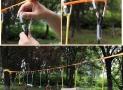 Corde enfants Ninja pour obstacles et entrainement
