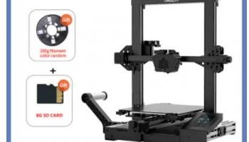 Imprimante 3D CR-6 SE avec carte mère silencieuse
