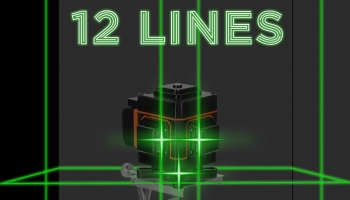 Niveau Laser 4D 16/12 lignes auto-nivellement sans fil
