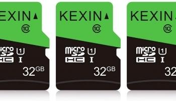 Lot de 3 Cartes MicroSDHC 32Go KEXIN