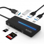 Adaptateur 5 en 1 HUB USB 3.0 KEXIN